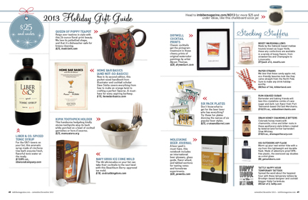 on tap 2013 giftguide