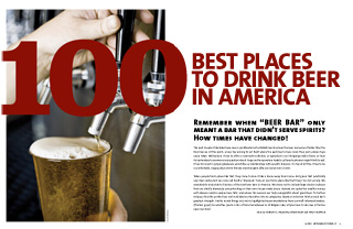 100 Best Places to Drink Beer in America