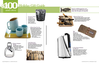 2010 Holiday Gift Guide: Over $100
