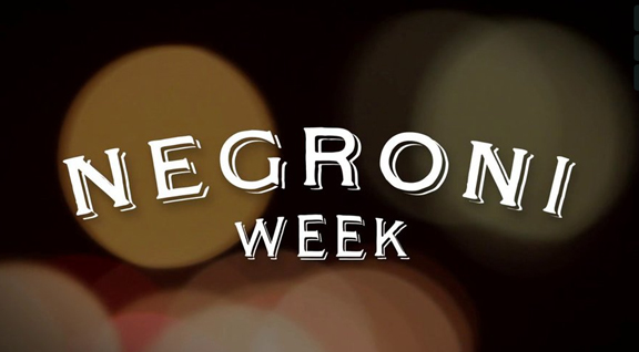 negroni week video shot