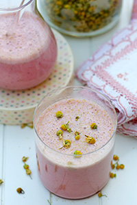 recipe af strawberry-chamomile-smoothie