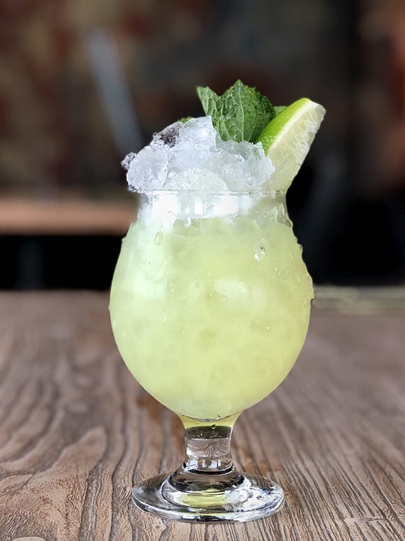 Absinthe Frappe. | Photo by Jessica Sanders.