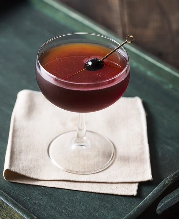 Manhattan Cocktail Imbibe Magazine