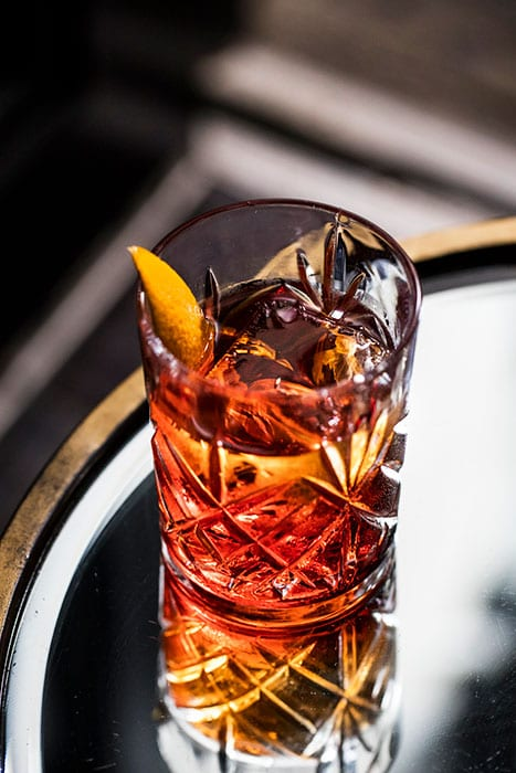Classic Negroni.  | Photo by Eric Medsker.