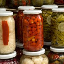 Bloody Mary Pickled Vegetables