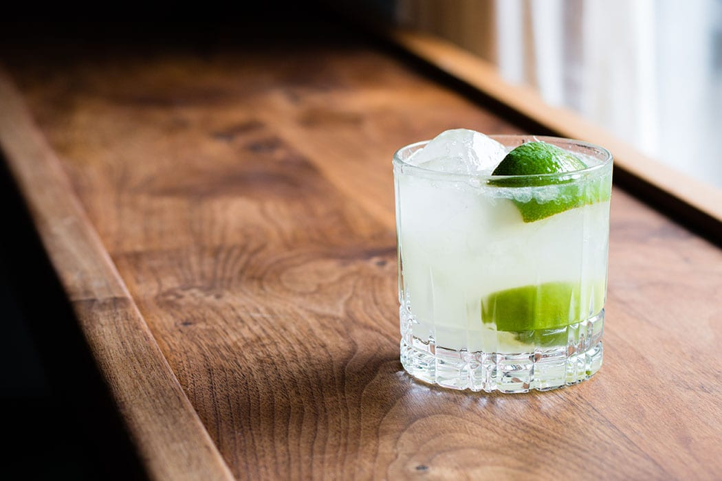 The Caipirinha. | Photo by Asia Coladner.