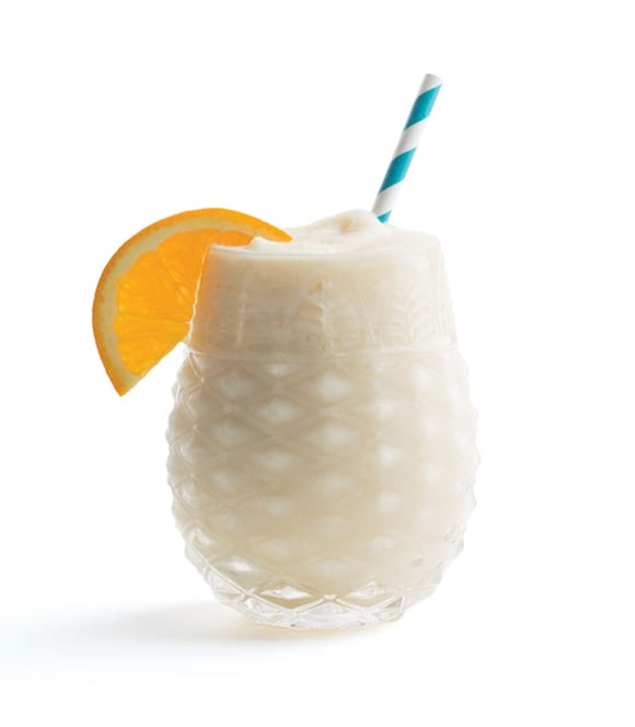 Creamy and tropical, it doesn't get more classic than the frozen Piña Colada. | Photo by Lara Ferroni.