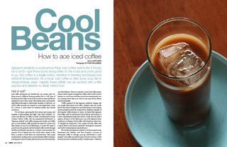 iced coffee how-to