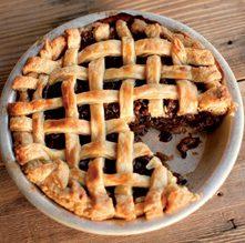 apple brandy mince pie