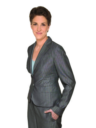 MSNBC ANCHORS -- Pictured: Rachel Maddow -- NBC Universal Photo: Virginai Sherwood