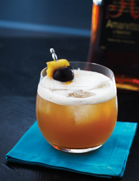 Jeffrey Morgenthaler's Amaretto Sour is fit for a festive Easter brunch. | Photo by Stuart Mullenberg.