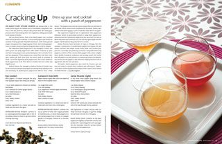 peppercorn cocktails