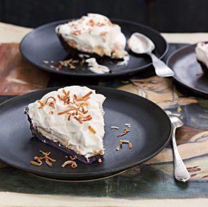 Coconut Rum Cream Pie