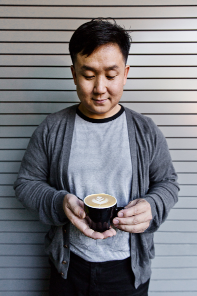 Yeekai Lim, owner of Cognoscenti Coffee.