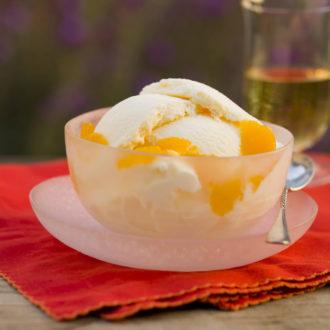 Tangerine-sicle ice cream. Photo by Leo Gong