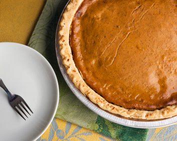 rum pumpkin pie