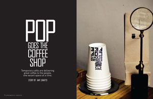 Pop-Up Coffee Shops