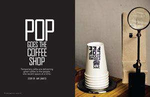 pop up coffee shops