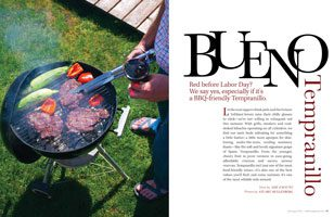 Tempranillo: BBQ-friendly red wine