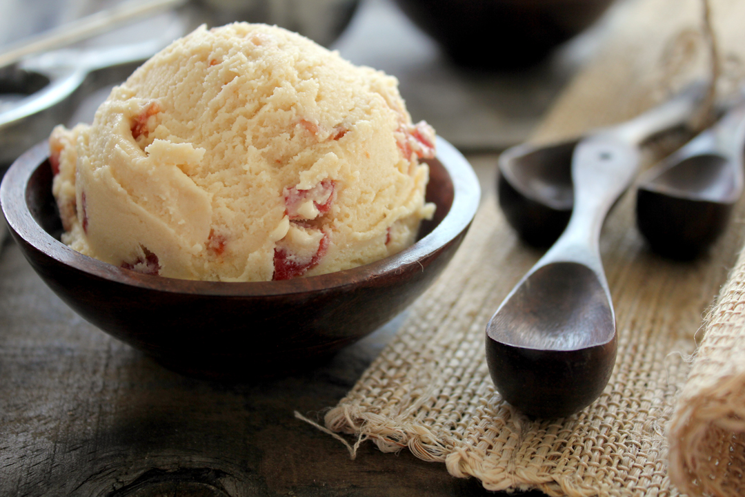 Maple-bacon-bourbon ice cream. Photo by Jana Erwin.