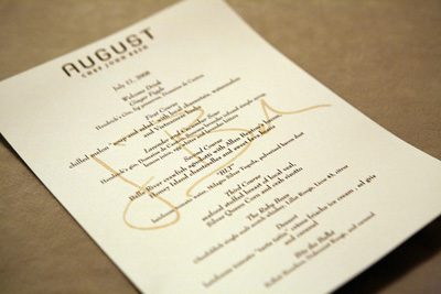 spirited dinners at TOTC