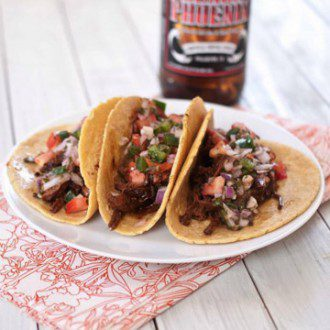 chipotle stout taco