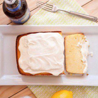 lemon pilsner cake