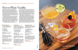 vanilla cocktails