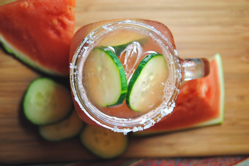 Watermelon Cucumber Margarita. | Photo by Vianney Rodriguez.