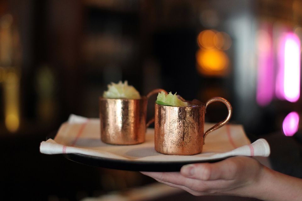 Oaxaca Mule. | Photo courtesy of Esquire Tavern.