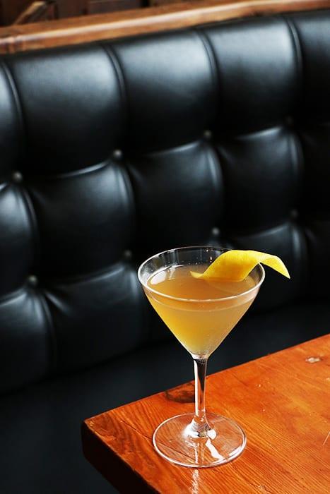 Algonquin Cocktail. | Photo by Emma Janzen.
