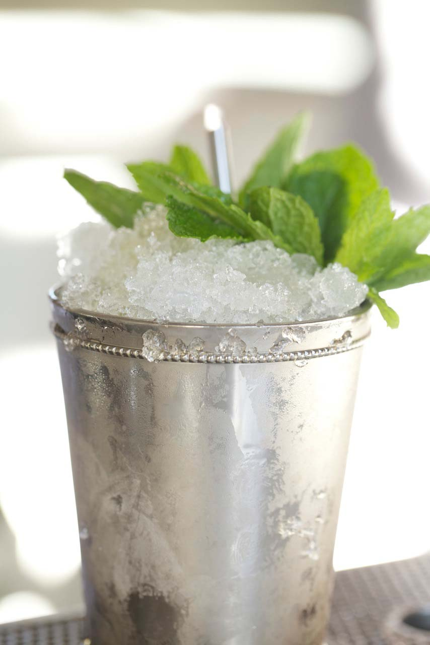 Hard Water Mint Julep . | Photo courtesy of Hard Water.