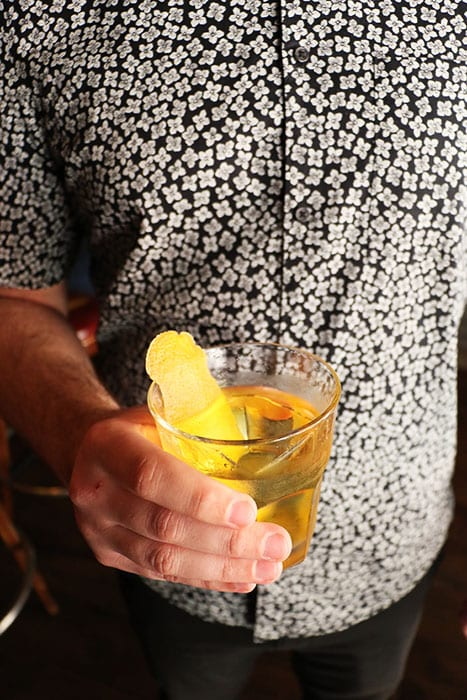 White Negroni. | Photo by Emma Janzen.