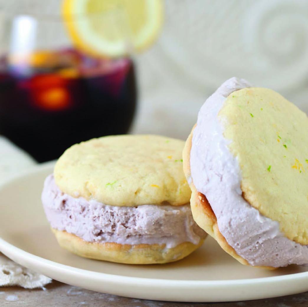 sangria ice cream sandwich