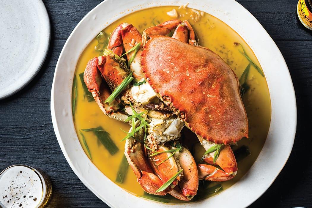 Drunken Crab. | Photo by Evan Sung.