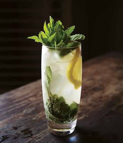 mint cocktails