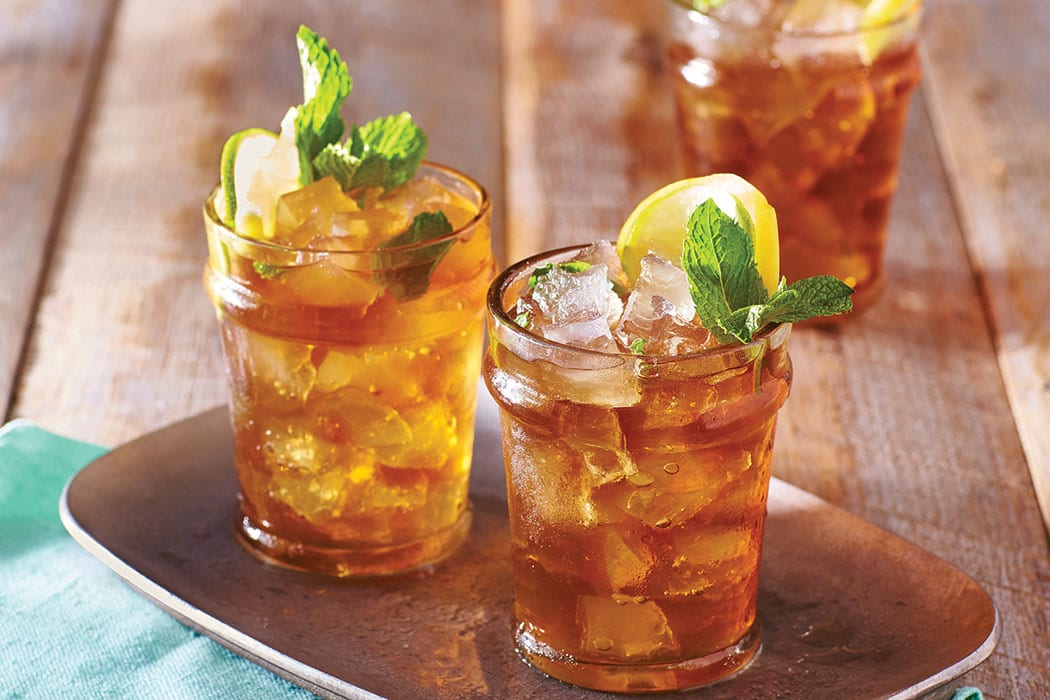 Mint Julep Iced Tea. | Photo courtesy of Time Inc. Books.