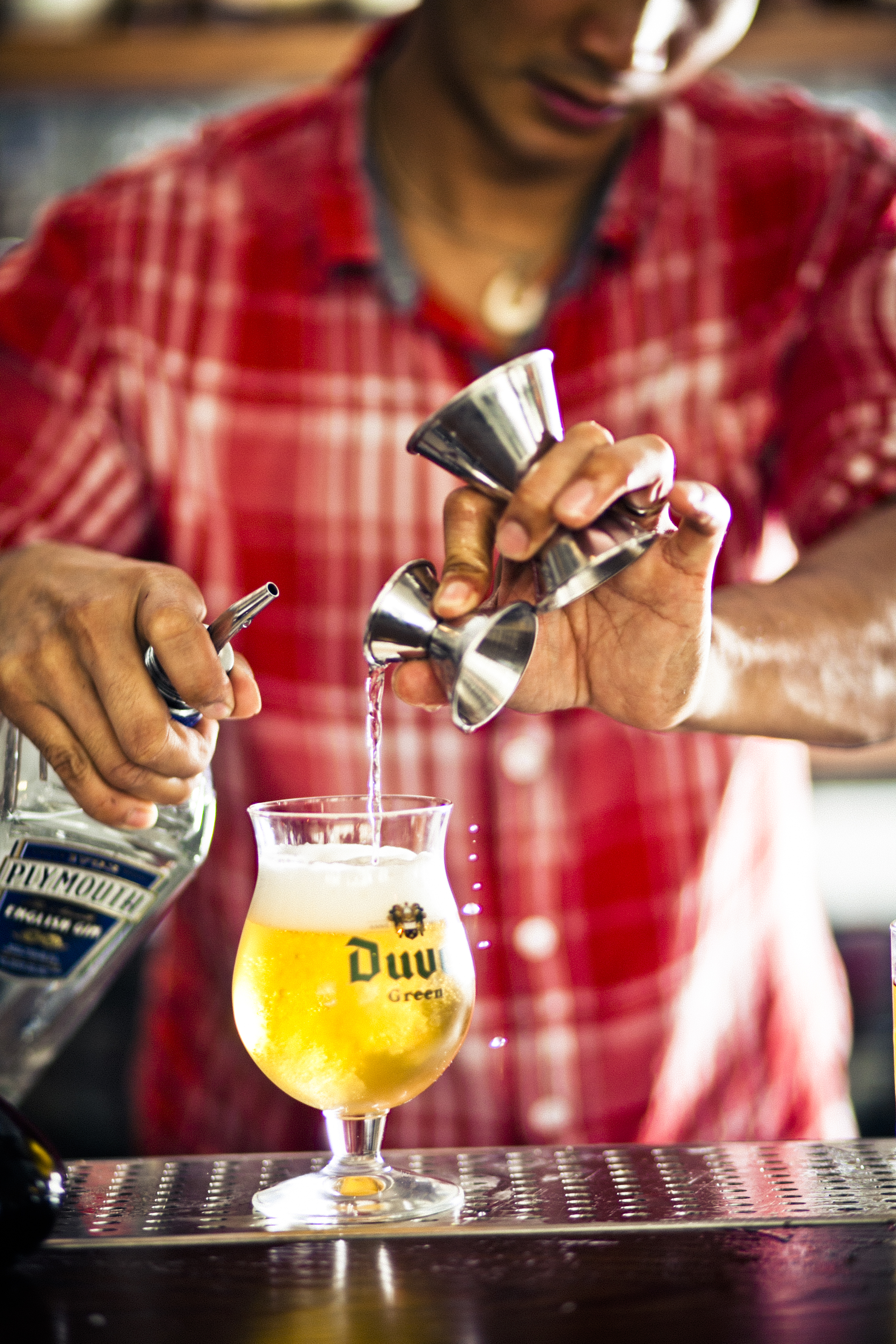 Belgium Sucker Punch Shandy. | Photo by Eric Wolfinger.