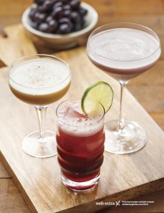 grape cocktails