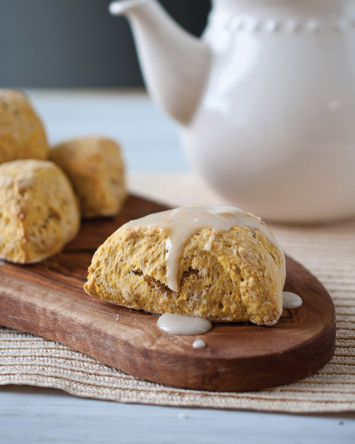 Pumpkin IPA Scones. | Photo by Jacquelyn Dodd.