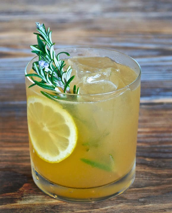 Rosemary Maple Bourbon Sour. | Photo by W&P Design.