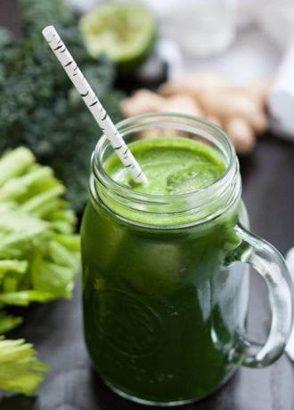 Kris Osborne green juice