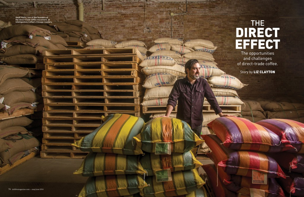 the direct effect, sourcing coffee directly from the producer