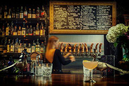 velveteen Las Vegas bar