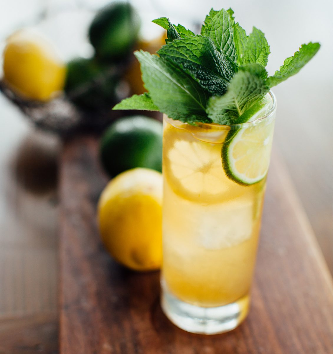 Two types of tea come into play in this recipe for Porch Punch. | Photo by Justen Clay.