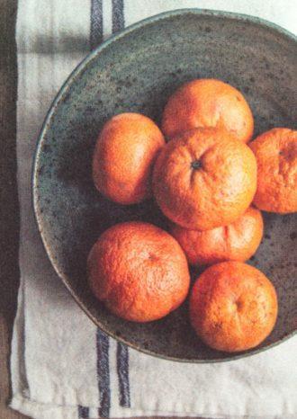 tangerine champagne sorbet