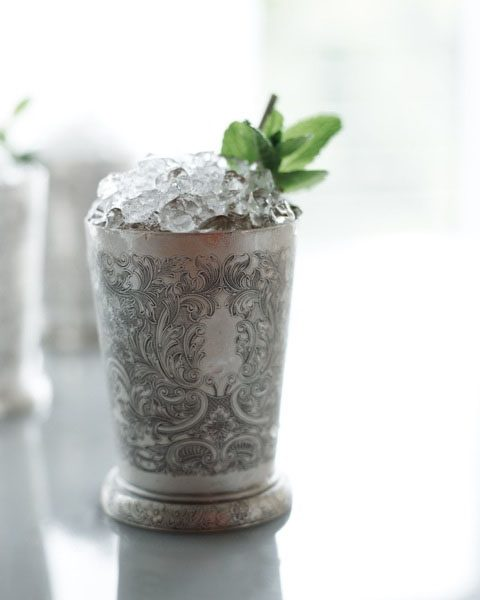 Cheater Tin Julep. | Photo by Stuart Mullenberg.