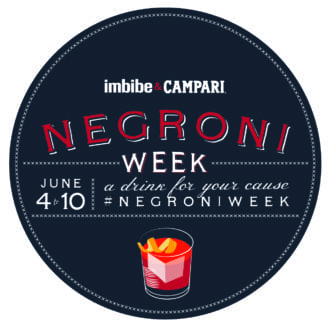 Negroni Week Starts Now!