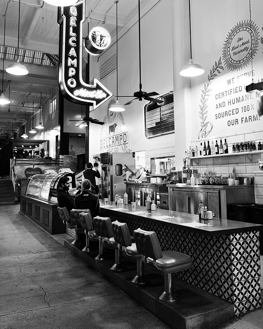 The burgers and sodas at Belcampo Meat Market in the Grand Central Market are tops.