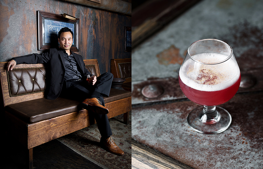 Daniel Djang  of Thirsty in LA is the go-to guy for all things cocktail-related.